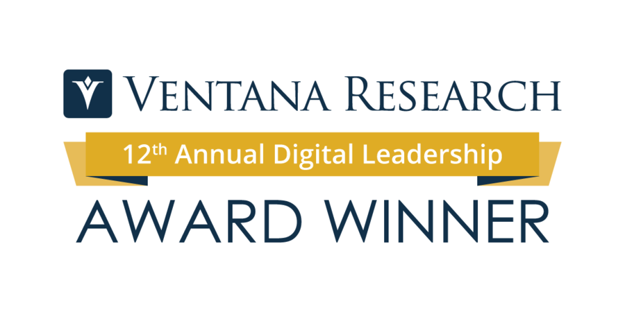 Ventana Research Announces the Winners of the 12th Annual Digital Leadership Award