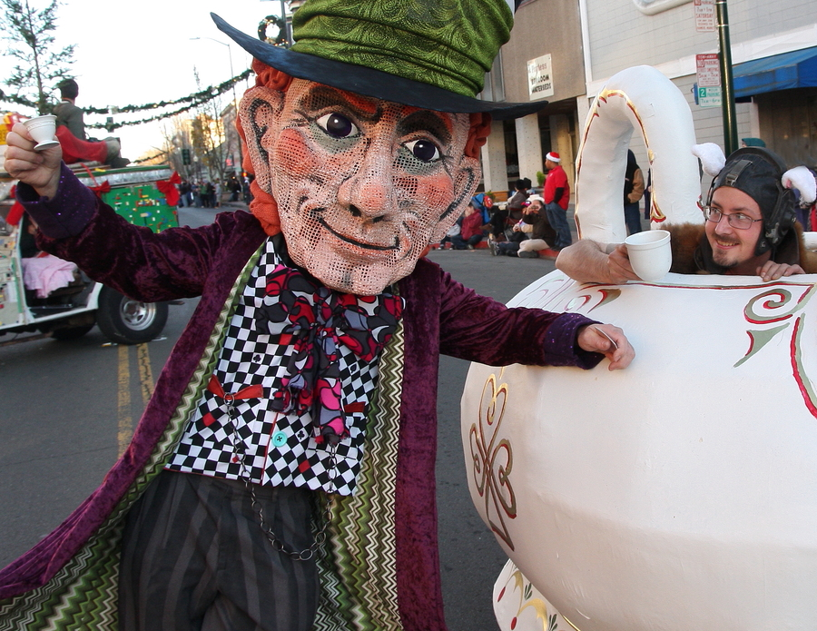 The Spectacular Mad Hatter Holiday Festival, Parade & Tree Lighting Celebrates it's 10th Year for the City of Vallejo where the Fabled Wonderland will Emerge from the Rabbit Hole in the Historic Downtown