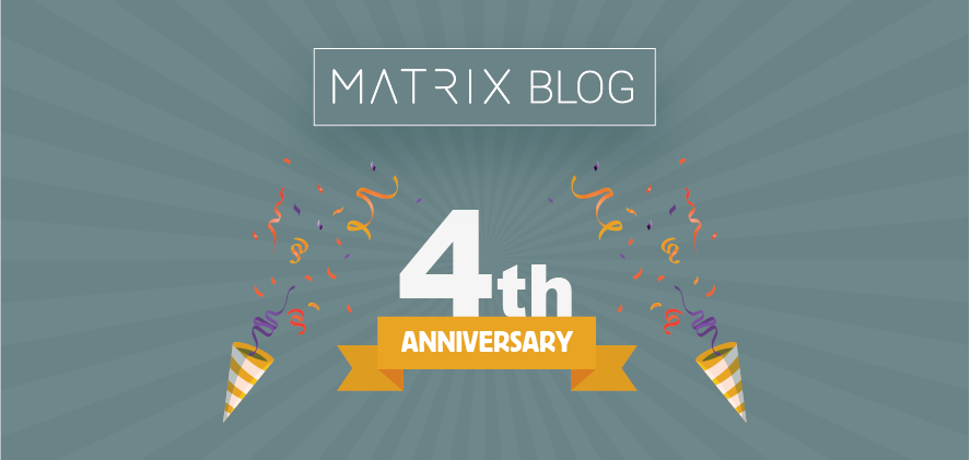 The MATRIX Blog Celebrates its 4th Anniversary
