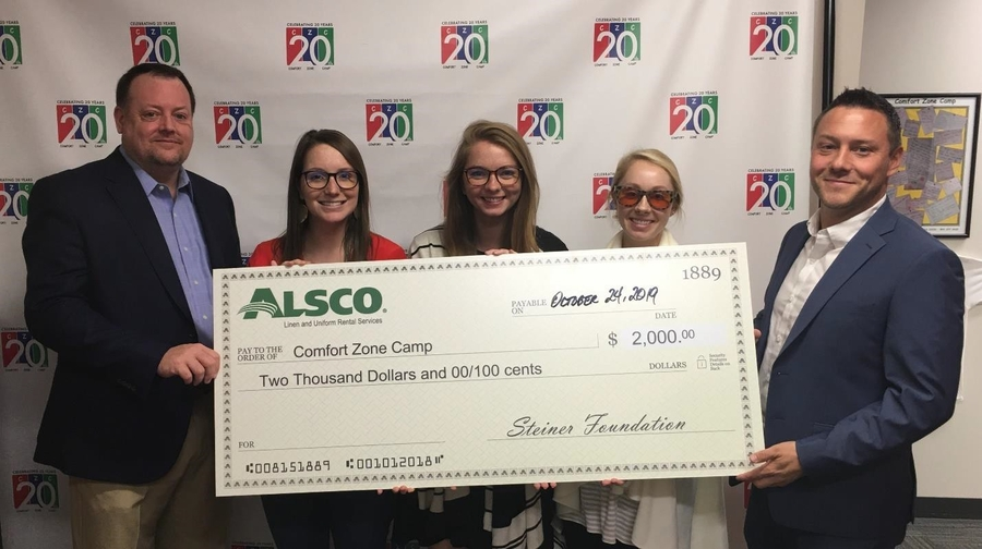Alsco Lends Support to Children Grieving Loss of Parent or Sibling
