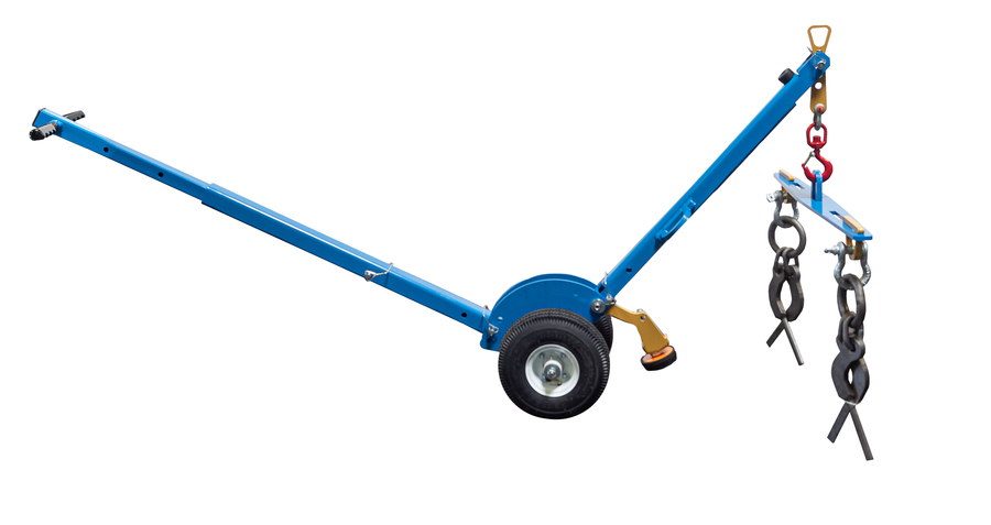 BHS Inc. Offers Trench Lid LIfter for Safer Access to Utility Trenches