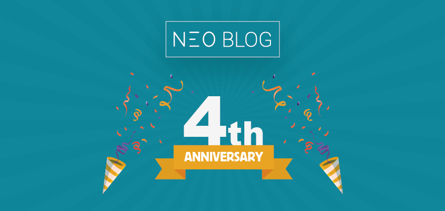 The NEO Blog Celebrates its 4th Anniversary