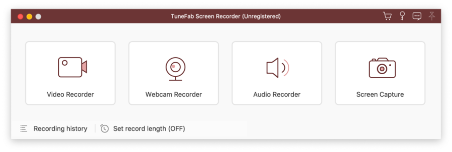 New Update: TuneFab Screen Recorder for Mac v. 2.0.8 Is Now Fully Compatible with macOS 10.15 Catalina