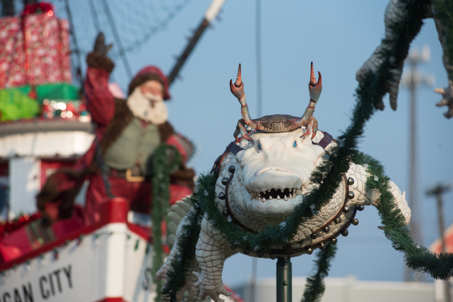 Romaire Studios' Custom, Life-Sized Cajun-Christmas Display to Light Up the Spirit of Morgan City Shrimp Boat on Nov. 28 at 6 p.m.