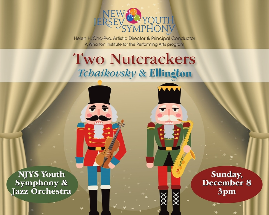 The New Jersey Youth Symphony Presents Two Nutcrackers at UCPAC December 8