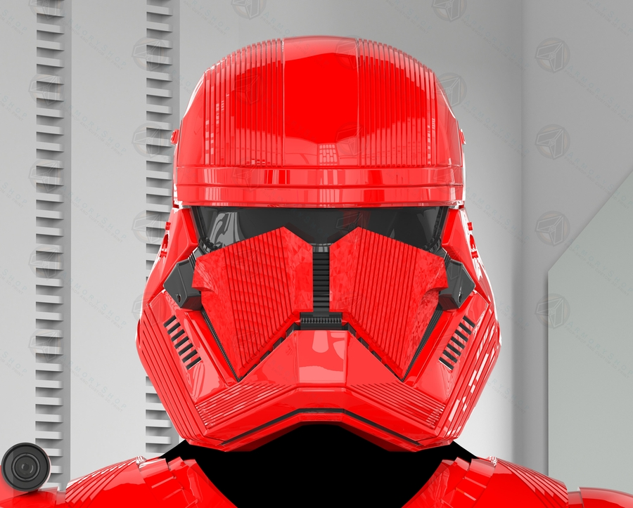 The Sith Trooper Armor Available from the ArmoryShop Prior to the Release of 'The Rise of Skywalker'