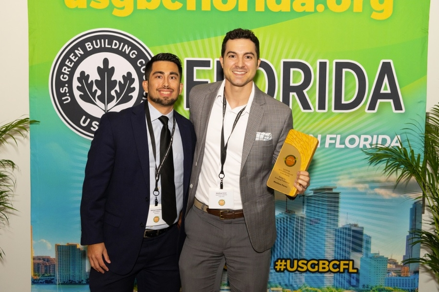 SuperGreen Solutions Brand Manager Recognized by United States Green Building Council for South Florida