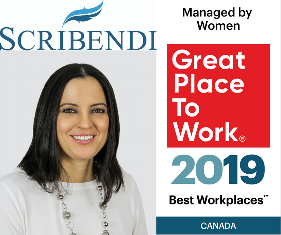 Scribendi Makes the 2019 List of Best Workplaces™ Managed by Women