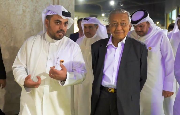 Malaysian PM visits Baladna