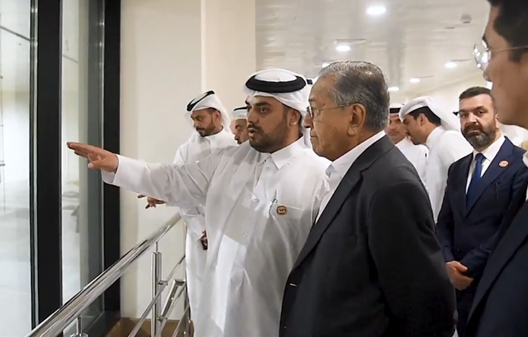 Qatar- Malaysian Prime Minister visits Baladna Food Industries
