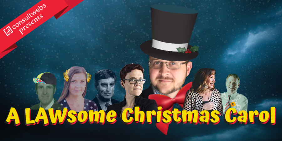 "Consultwebs Celebrates the Season with ""A LAWsome Christmas Carol"""