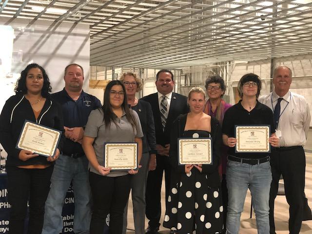 Female Aspiring Carpenters Graduate from Allentown Pre-Apprenticeship Program