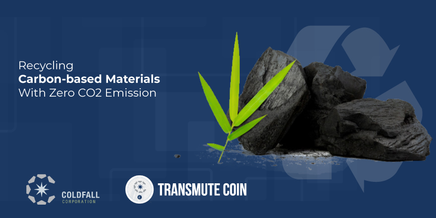 Transmute Coin Introduces Process for Recycling Carbon-based Materials with Zero CO2 Emission & Waste Pollution