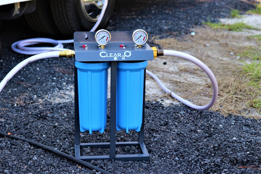 "CLEAR2O® Introduces New Dual Canister Filter System for the ""Serious"" RV Enthusiast"