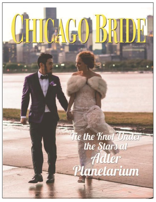 "Tie the Knot ""Under the Stars"" CHICAGO BRIDE Featured Cover Story"