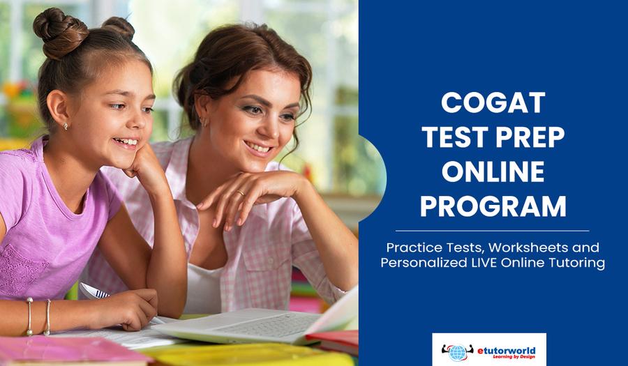 New CogAT Test Prep Online Program from eTutorWorld