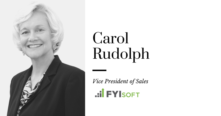 FYIsoft Welcomes Carol Rudolph as Vice President of Sales