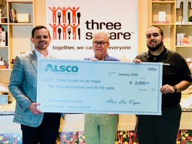 Alsco Las Vegas Branch Joins Three Square in Efforts to Reduce Food Insecurity