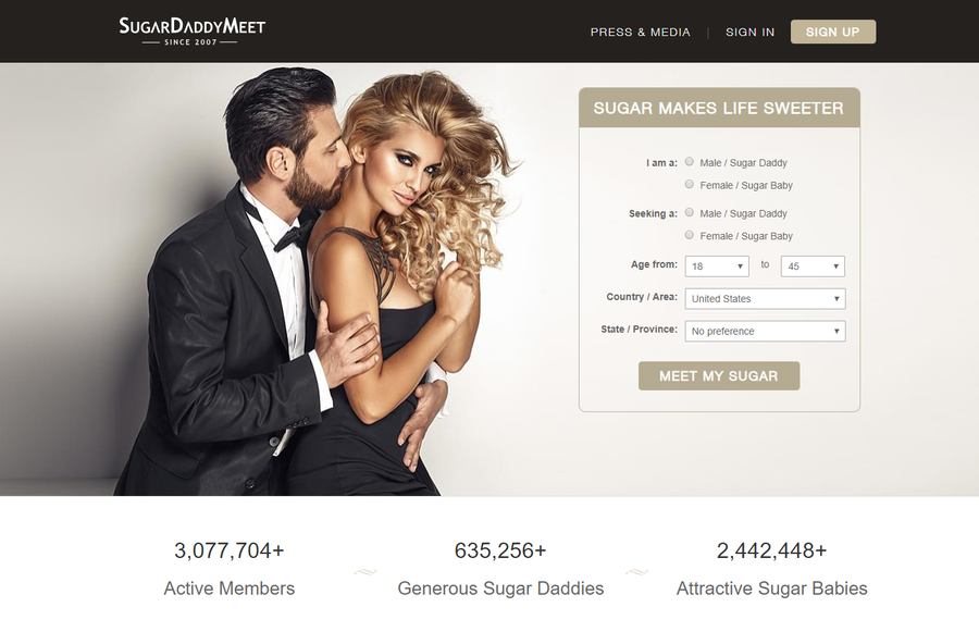 SugarDaddyMeet Thrilled At Reaching The 3 Million Users Milestone