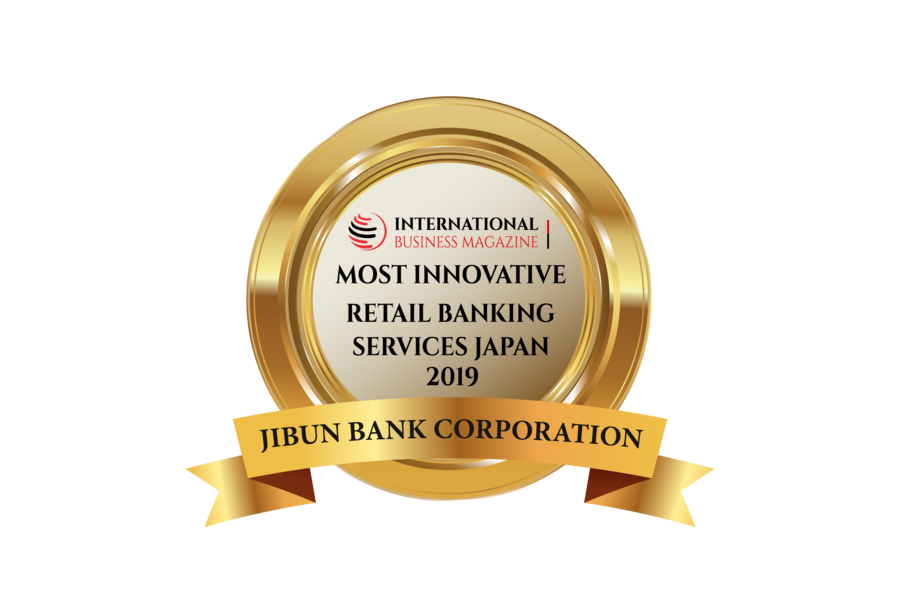 Jibun Bank wins the prestigious Most Innovative Retail Banking Services, Japan 2019 with International Business Magazine