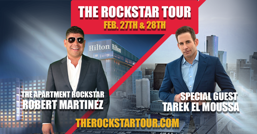 Rockstar Capital Excited to Announce Their First Two Day Apartment Investor Networking and Educational Event with Guest Speaker Tarek El Moussa
