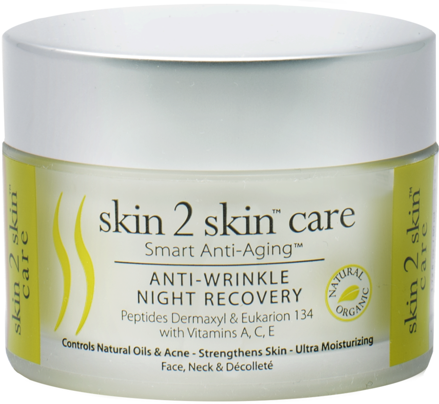 Don't Dread The First Morning Mirror Closeup With Skin 2 Skin's Anti-Wrinkle Night Recovery. Not Just A Night Cream But A Multitasking Dry Sensitive Skin Changer Within The First Five Days