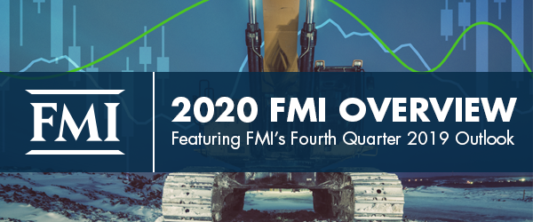 FMI Releases 2020 FMI Overview, Featuring FMI's Fourth Quarter 2019 Outlook