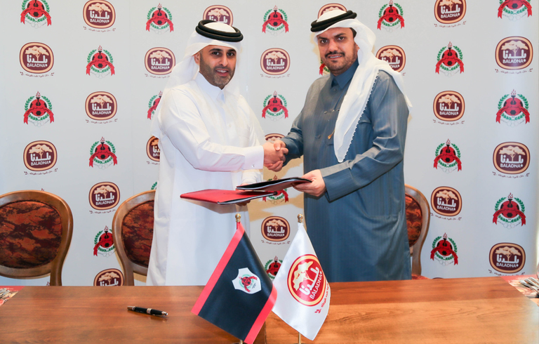 Baladna and Al Rayyan Sports Club Sign Sponsorship Agreement