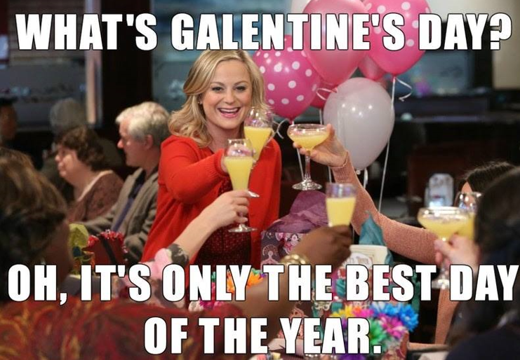 Half-Price Cocktails All Day for Ladies on Galentine's Day on February 13 at Chef Point Bar and Restaurant