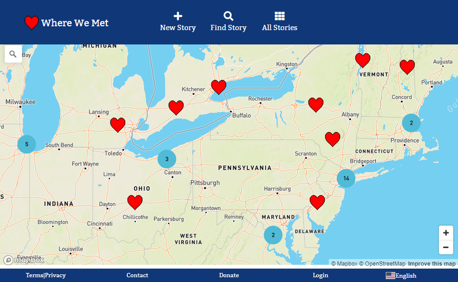 WhereWeMet.Org is Building a Worldwide Map of Love