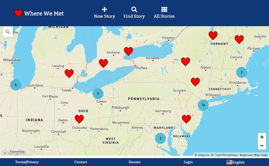 WhereWeMet.Org is Building a Worldwide Map of Love