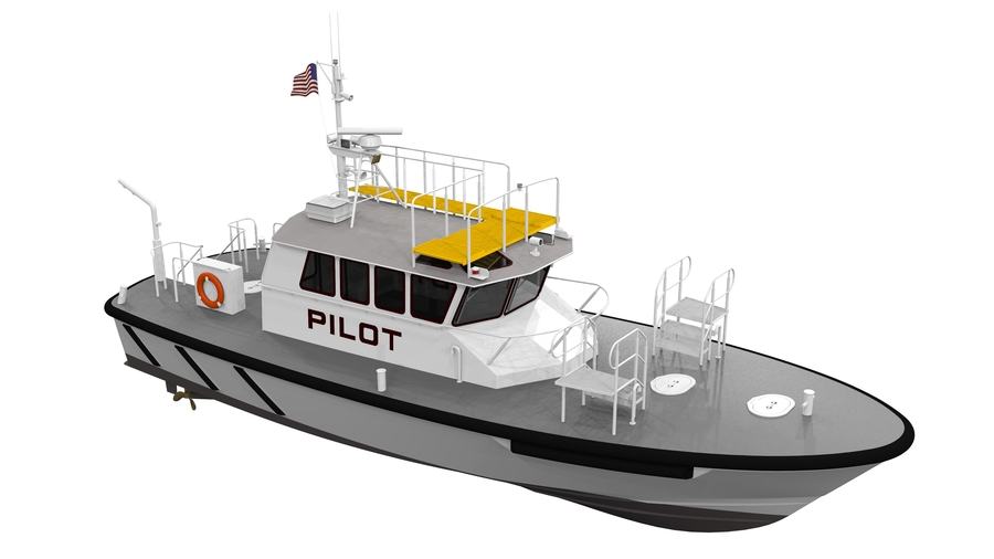 Canaveral Pilots Partners with Glosten/Ray Hunt for Electric Pilot Boat