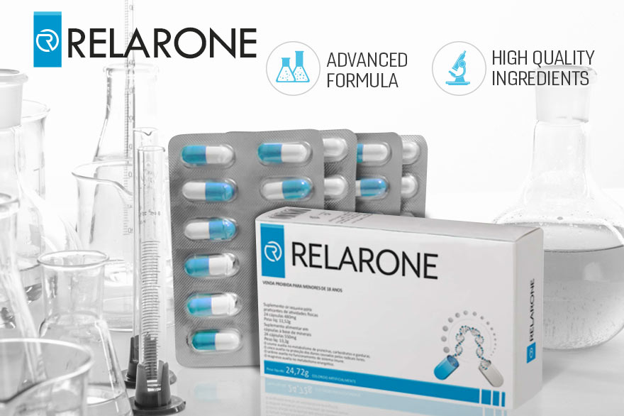 Announcing RELARONE the Food Supplement that Promotes Quality of Life and Fitness