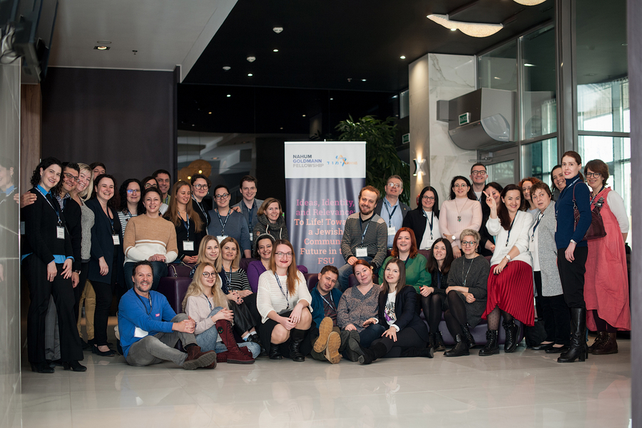 First Ever Joint Regional Limmud FSU/Nahum Goldmann Fellowship Takes Place in Minsk