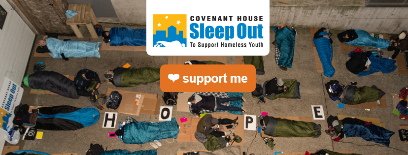Think Profits Inc. Participating in Sleep Out Professionals Edition
