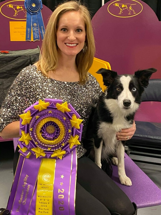 Local Bad Dog Agility Team Takes The Win at This Year's Westminster Dog Show Masters Agility Championship