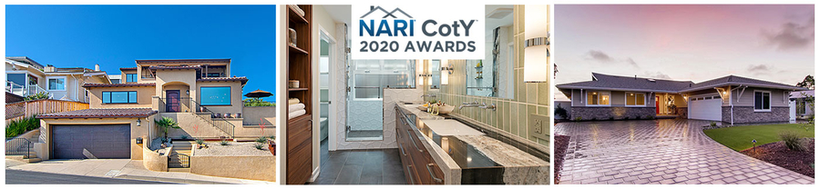 Jackson Design and Remodeling Kicks Off 2020 Awards Season with Three Regional Contractor of the Year (CotY) Awards