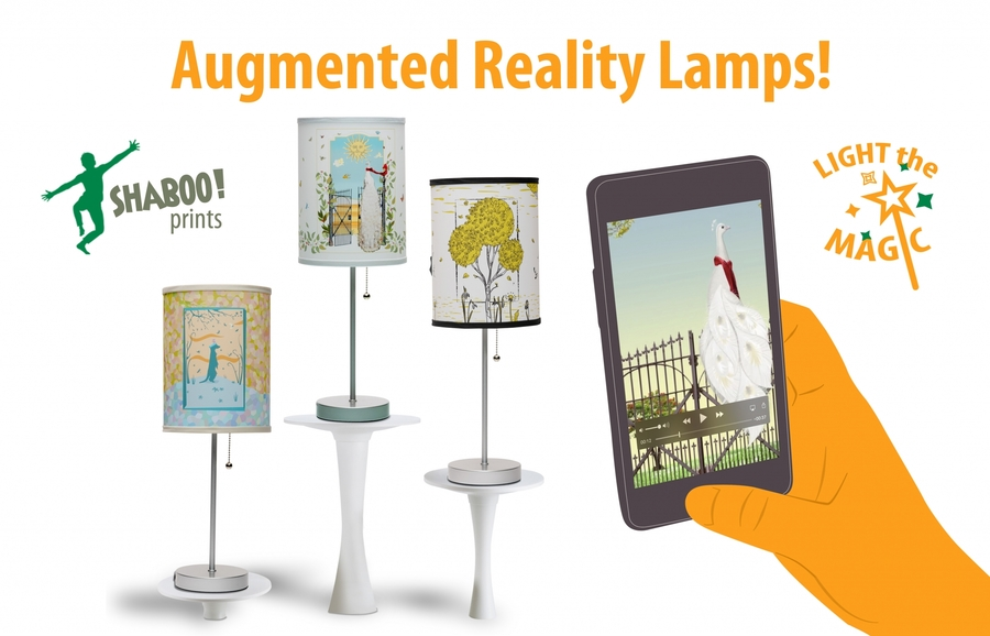 First-of-Their-Kind Augmented Reality Lamps Hit the Market
