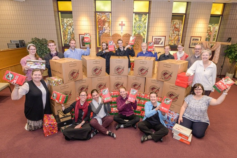 GFA World Brings Hope with Christmas Shoeboxes
