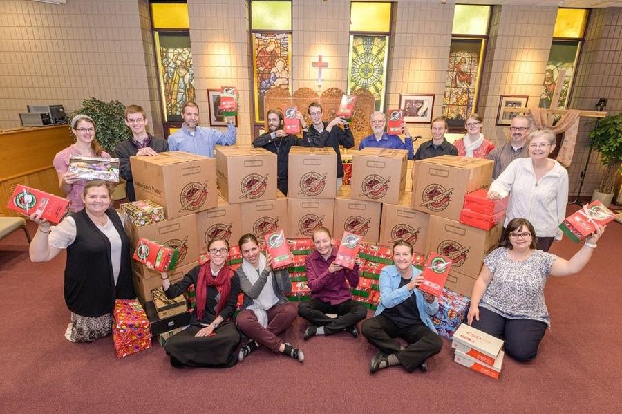 GFA World Brings Hope with Christmas Shoeboxes