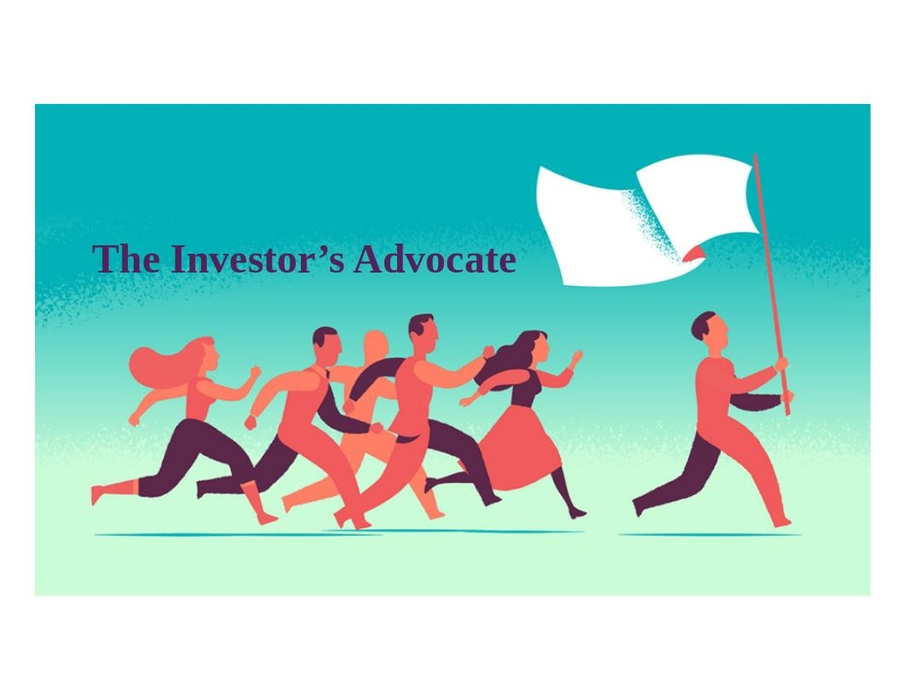 The Investor's Advocate: Masked Opportunity