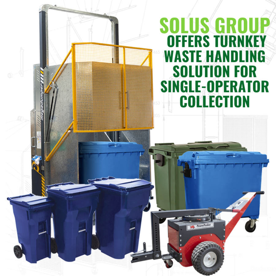 Solus Group Offers Turnkey Waste Handling Solution for Single-Operator Collection