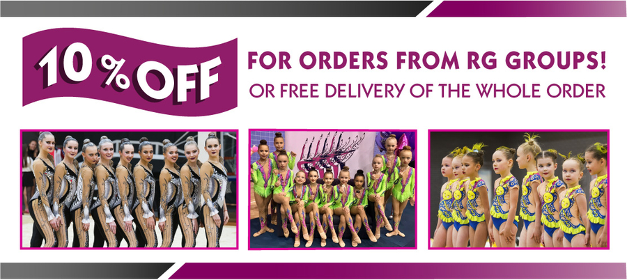 Gymnastics Fantastic Announces 10% OFF on Women's and Men's Gymnastics Leotards