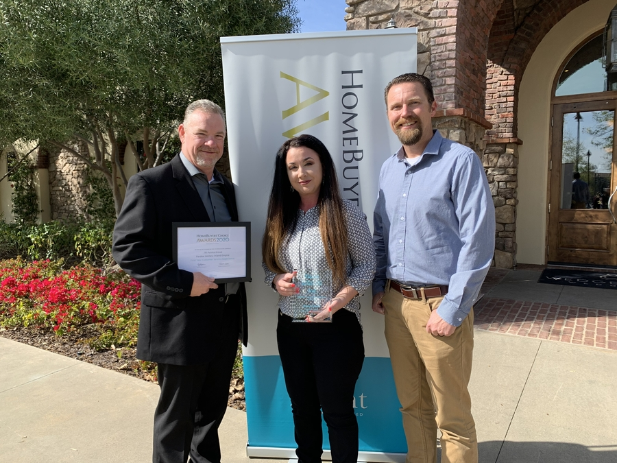 Homebuilding Experience Management Firm Eliant Honors TRI Pointe Group's Pardee Homes with Multiple Awards at Homebuyers' Choice Awards