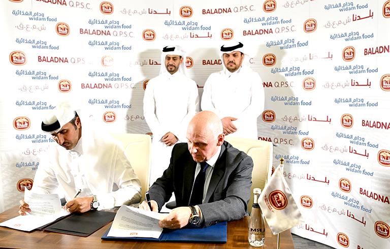 """Partnership Agreement between """"Baladna"""" and """"Widam"""""""