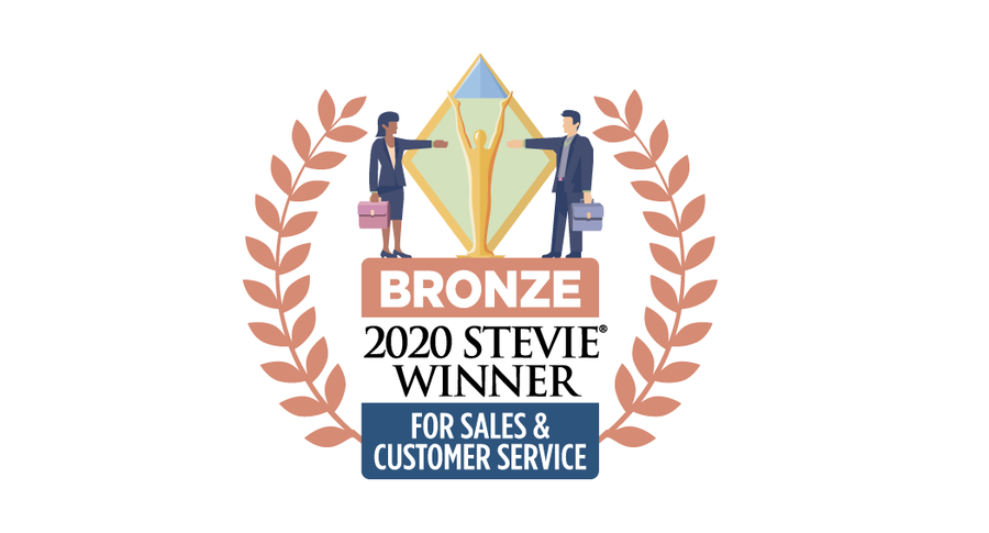 Revenue Storm Wins Bronze Stevie® Award in 2020 Stevie Awards for Sales & Customer Service