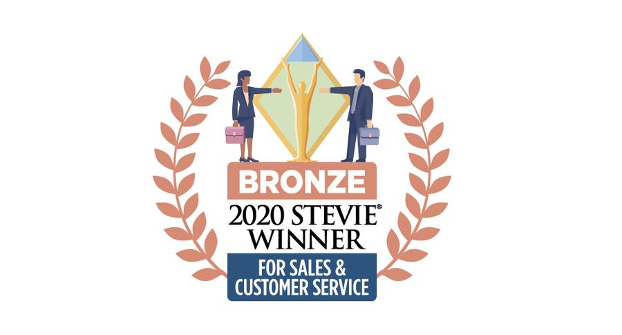 Revenue Storm Wins Bronze Stevie® Award in 2020 Stevie Awards for Sales & Customer Service