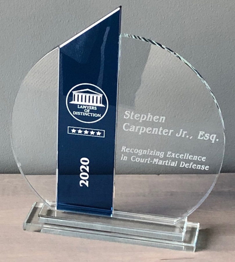 Court & Carpenter Named to the 2020 Lawyers of Distinction