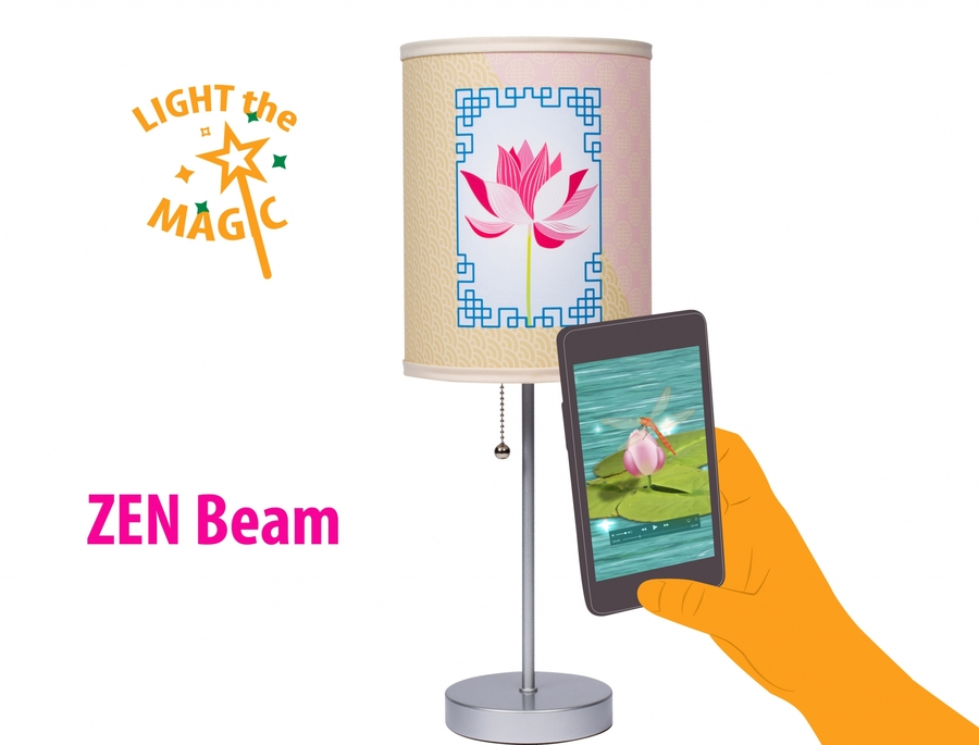 It's Alive! Shaboo Launches First-Ever Augmented Reality Zen Beam Lamp