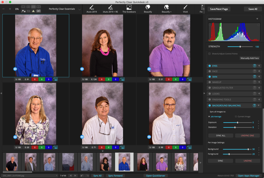 EyeQ Announces Patent-pending Background Balancing Technology for School Yearbooks
